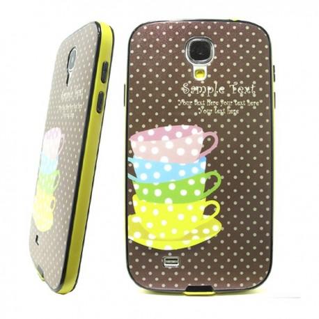 Funda Purpurina Tazas Galaxy S4