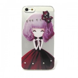 Funda Manga con brillos iPhone 5