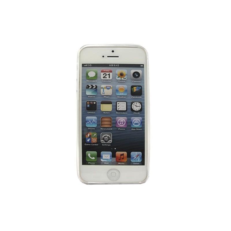 2515f615832 ... Funda Manga con brillos iPhone 5