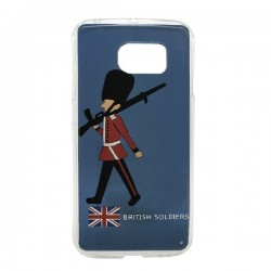 Funda British Soldier Galaxy S6 Edge