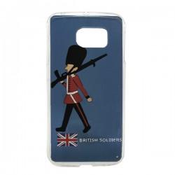 Funda British Soldier Galaxy S6 Edge