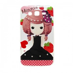 Funda Manga con brillos Galaxy Grand 2