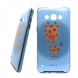 Funda Purpurina Jirafa Galaxy A5