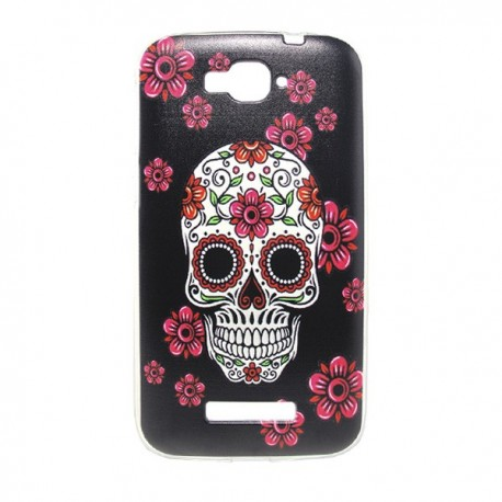 Funda calaveras alcatel pop c7