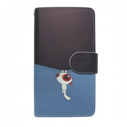Funda tapa Gato Colgado Alcatel Pop C7