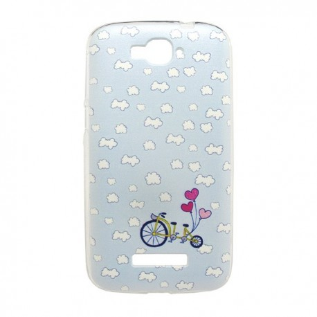 Funda Nubes Alcatel Pop C7