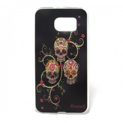 Funda Calaveras S6 Edge Plus