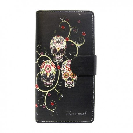 Funda de tapa Calaveras S6 Edge Plus