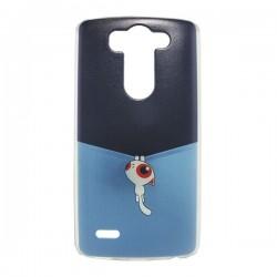 Funda Gato Colgado LG G3 Mini