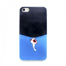 Funda Gato Colgado iPhone 5