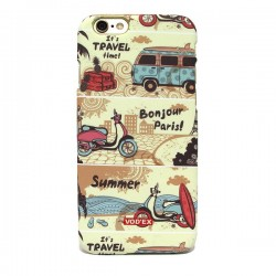 Funda trasera Travel iPhone 6 Plus