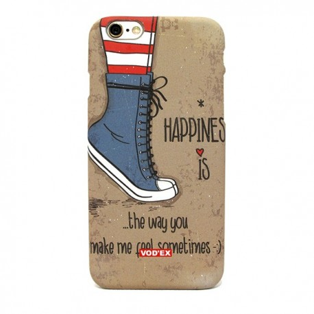 Funda trasera Happiness iPhone 6 Plus
