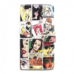 Funda de tapa Comic Glx S7 Edge