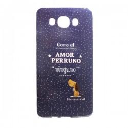 Funda de Gel Amor Perruno Glx J7 (2016)