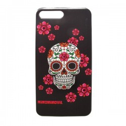 Funda de gel Calavera iPhone7 Plus