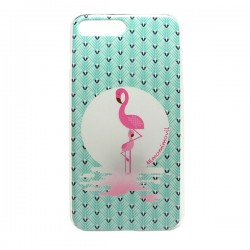 Funda gel flamingo iPhone7 Plus