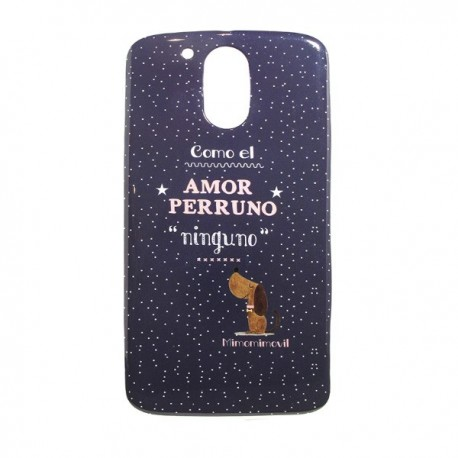 Funda Amor Perruno Moto G4
