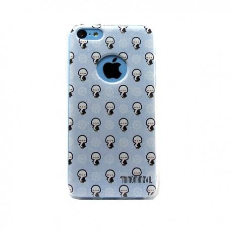 Funda Pingüinos iPhone 5C