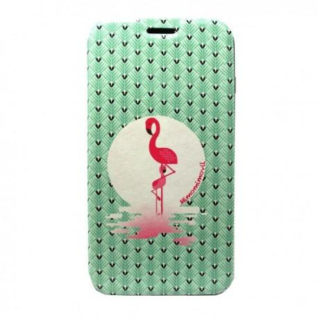 Funda tapa Flamingo iPhone 7