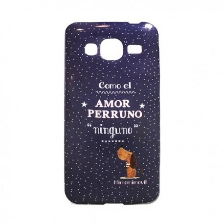 Funda Amor Perruno Galaxy J3