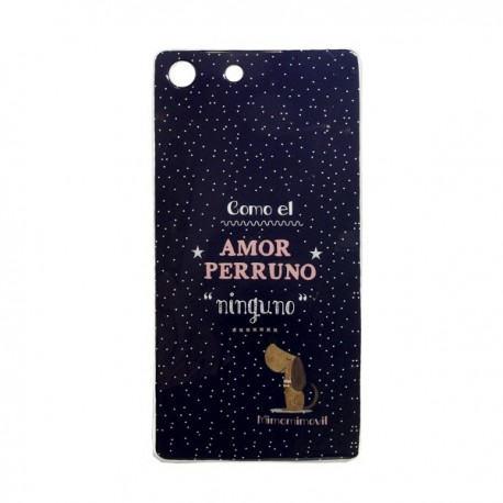 Funda Amor Perruno Xperia M5