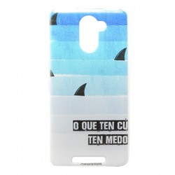 Funda de gel Tiburos BQ U PLUS