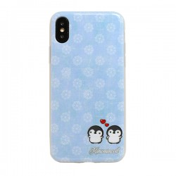 Funda Pingüinos iPhone X