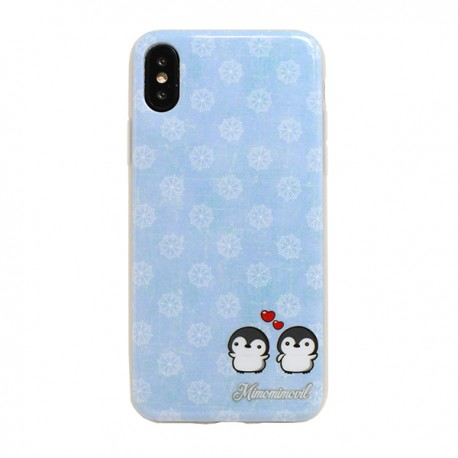 Funda Pingüinos iPhone X