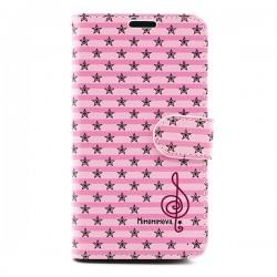 Funda tapa Pink Redmi 4X