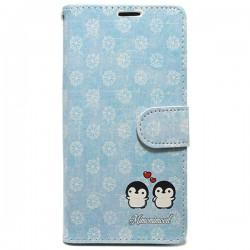 Funda tapa Pingüinos Xiaomi Redmi 4A
