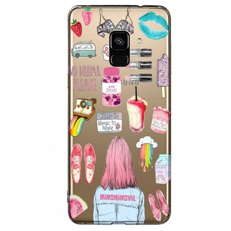 Funda Collage Galaxy A8-2018