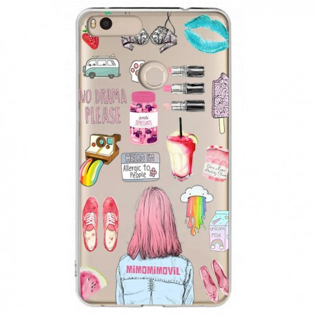 Funda Collage Mi Max 2