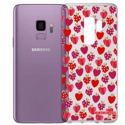 Funda Fresas Galaxy S9