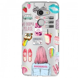 Funda Collage Alcatel A3