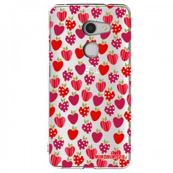 Funda Fresas Alcatel A3