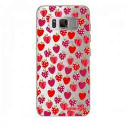Funda Fresas Galaxy S8