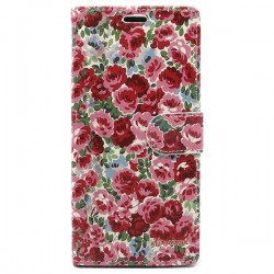 Funda tapa Rosas Redmi note 4