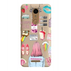 Funda collage Wiko View